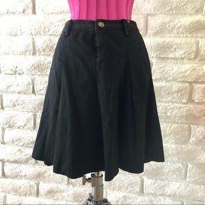 Armani / Exchange Mini Black Skirt Sz4